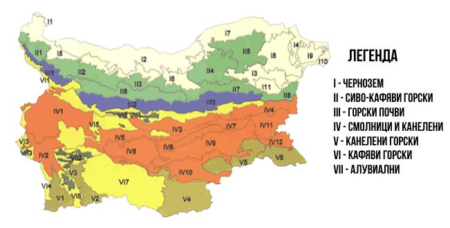 Типове почви в България и капков маркуч